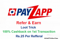 Payzapp refer eanr loot trick